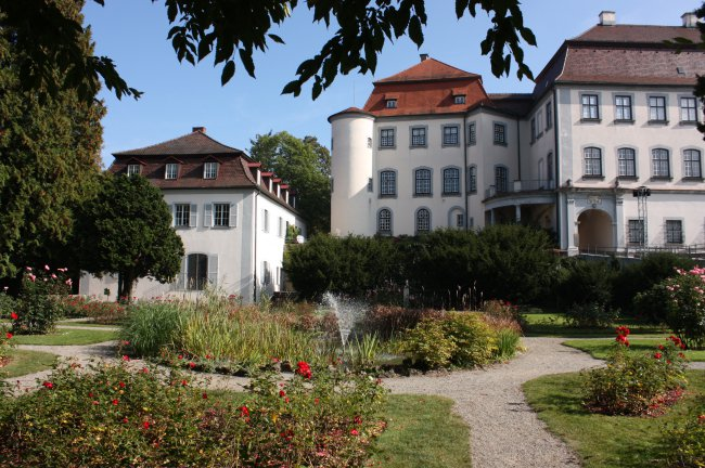 Schloss Großlaupheim (heutige Ansicht)