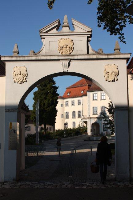 Laupheim Schlossportal (heutige Ansicht)