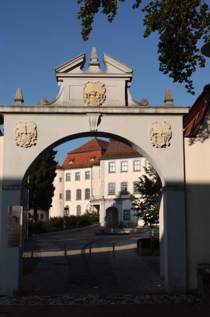 Laupheim Schloßeingang (heutige Ansicht)
