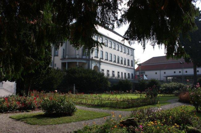 Laupheim Partie am Schlosspark (heutige Ansicht)