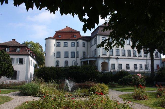 Schloss Gross-Laupheim (heutige Ansicht)