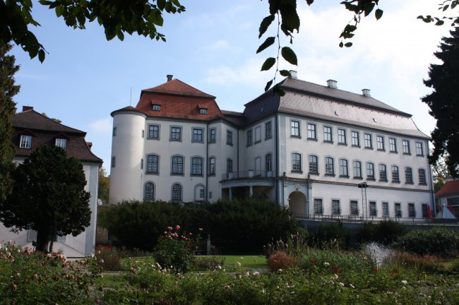 Laupheim/Württ. - Schloß Groß-Laupheim (heutige Ansicht)