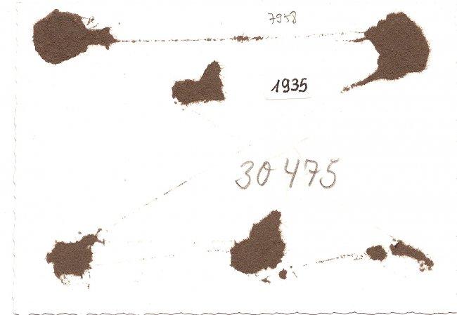 Kleines Schlössle (Rückseite der Ansichtskarte)