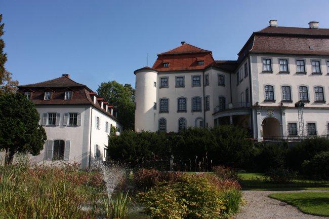 Laupheim (Württ.). Rosengarten (heutige Ansicht)