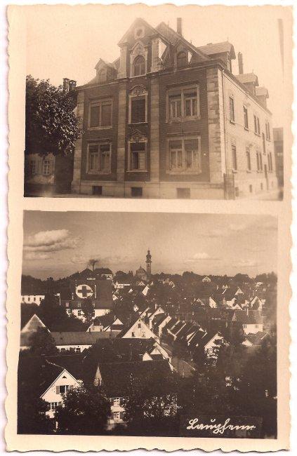 Haus Bergmann (Vorderseite der Ansichtskarte)