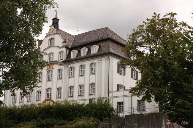 Schloss Kleinlaupheim (heutige Ansicht)