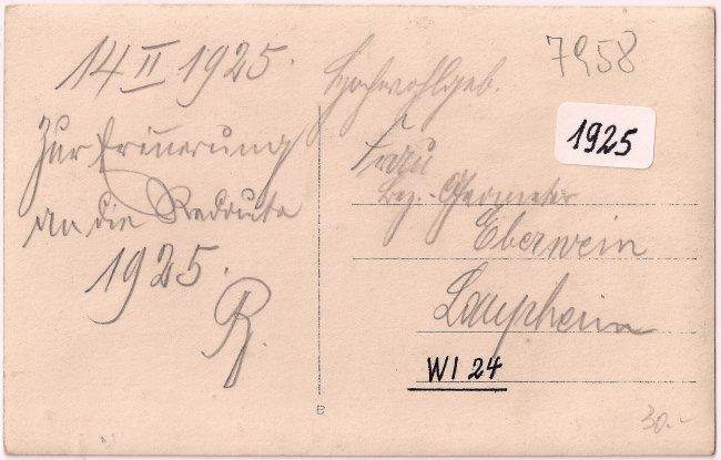 Kronensaal (Rückseite der Ansichtskarte)