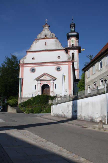 Laupheim  Stadtkirche (heutige Ansicht)