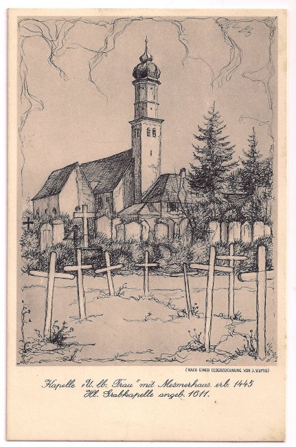 Kapelle U. lb. Frau (Vorderseite der Ansichtskarte)