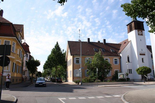 Laupheim, König-Wilhelm-Straße (heutige Ansicht)