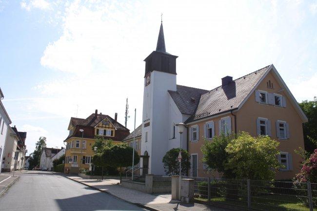 Laupheim/Württ. Radstraße (heutige Ansicht)