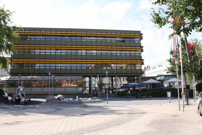 Laupheim, Neues Rathaus (heutige Ansicht)
