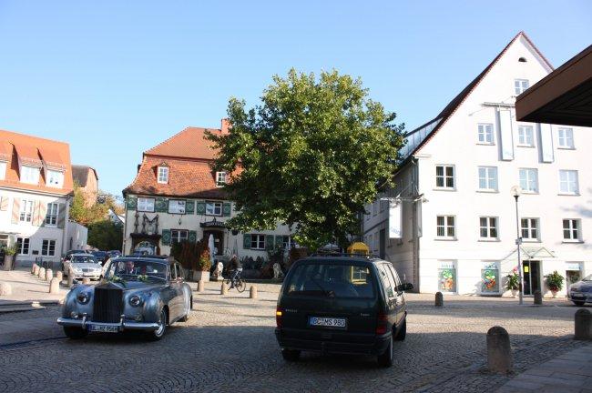 Marktplatz, Laupheim (heutige Ansicht)