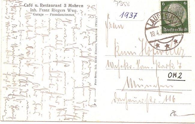 Laupheim (Württ.) (Rückseite der Ansichtskarte)