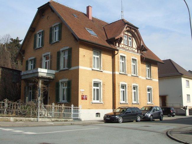 Wohnhaus in der Gartenstraße (heutige Ansicht)