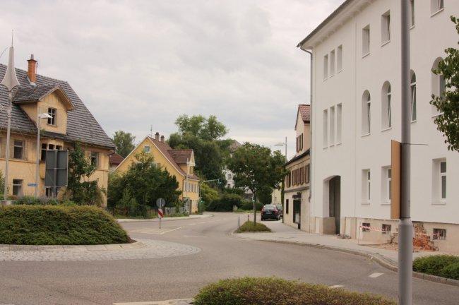 Laupheim, Biberacher Straße (heutige Ansicht)
