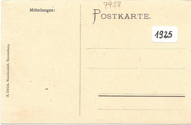 Laupheim (Württ.), Restaurant und Weinstube z. \