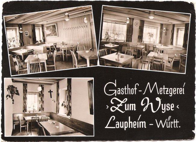 Gasthof - Metzgerei \