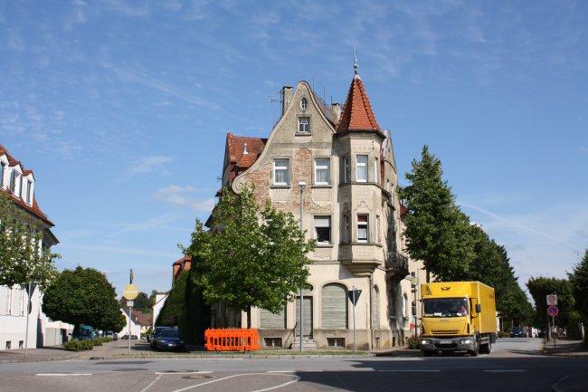 Laupheim, König-Wilhelmstraße (heutige Ansicht)