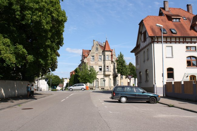 Laupheim, König-Wilhelm- und Schillerstraße (heutige Ansicht)