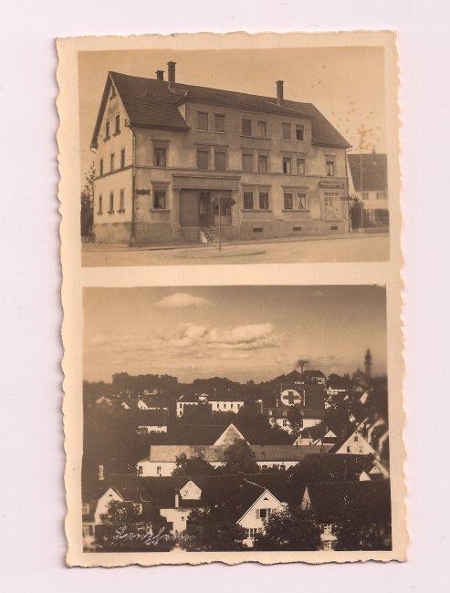 Einzelgebäude (Vorderseite der Ansichtskarte)