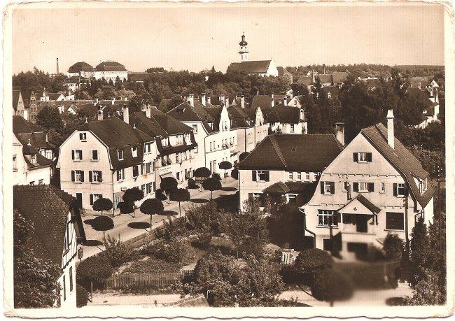 König-Wihelm-Straße (Vorderseite der Ansichtskarte)