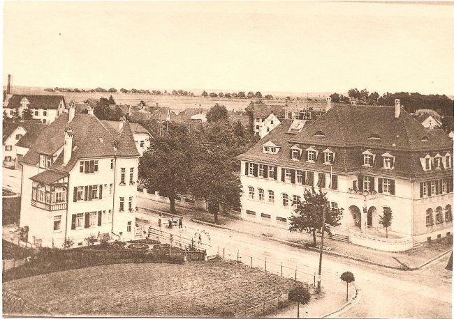 Ulmer Straße (Vorderseite der Ansichtskarte)