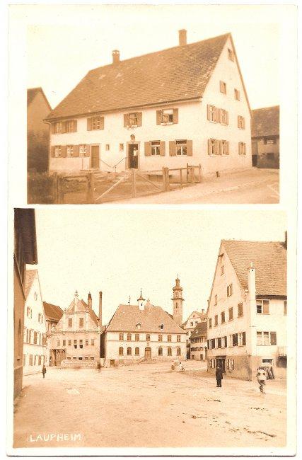 Lange Straße (Vorderseite der Ansichtskarte)