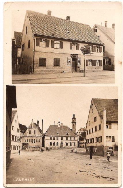 Haus Humm (Vorderseite der Ansichtskarte)