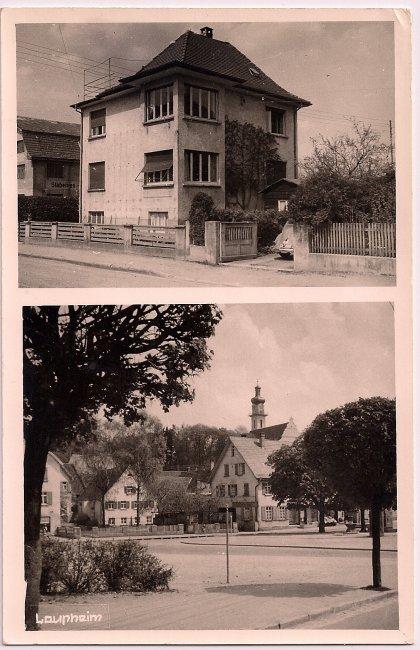Haus Schmucker (Vorderseite der Ansichtskarte)
