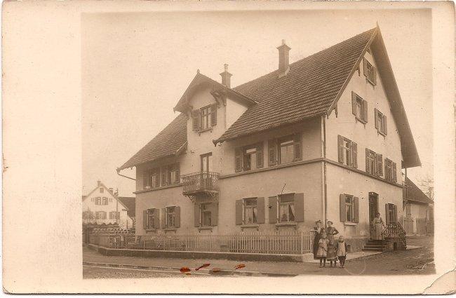 Haus Rupf (Vorderseite der Ansichtskarte)