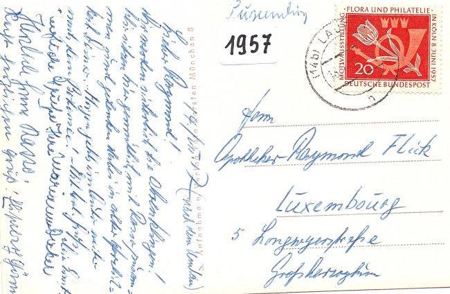 Kronen-Apotheke (Rückseite der Ansichtskarte)