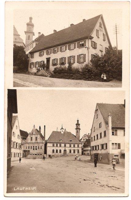 Haus am Kirchberg (Vorderseite der Ansichtskarte)