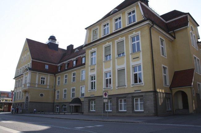 Laupheim - Schule (heutige Ansicht)