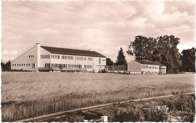 Landwirtschaftsschule (Vorderseite der Ansichtskarte)