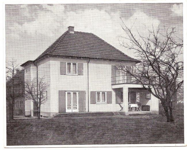 Haus Otto Miller (Vorderseite der Ansichtskarte)