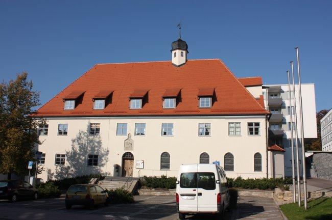 Laupheim, Rathaus (heutige Ansicht)