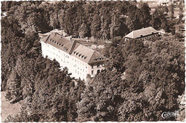 Kreiskrankenhaus (Vorderseite der Ansichtskarte)