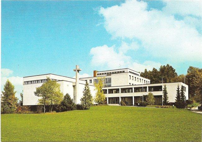 Dreifaltigkeitskloster (Vorderseite der Ansichtskarte)