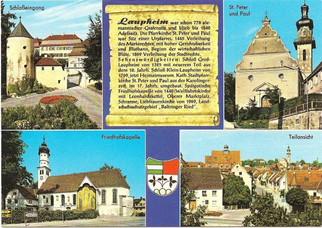 Mehrbildpostkarte (Vorderseite der Ansichtskarte)