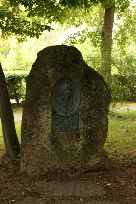 Albert Magg- Gedenkstein (heutige Ansicht)