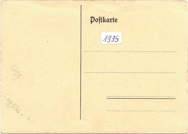 Heimattag Laupheim (Rückseite der Ansichtskarte)