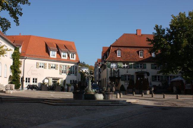 Laupheim, Oberer Marktplatz (heutige Ansicht)