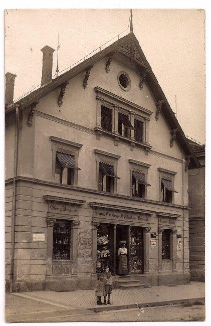 Haus Barabeisch (Vorderseite der Ansichtskarte)