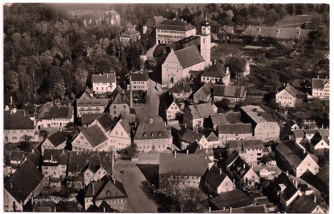 Laupheim / Württbg. (Vorderseite der Ansichtskarte)