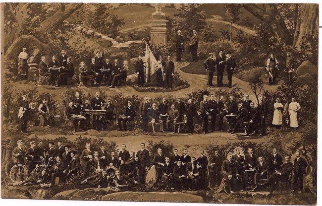 Kolpingsfamilie Laupheim (Vorderseite der Ansichtskarte)