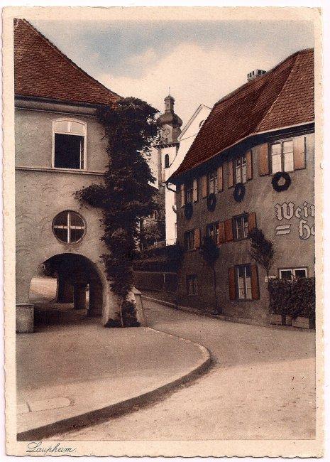 Oberer Marktplatz (Vorderseite der Ansichtskarte)