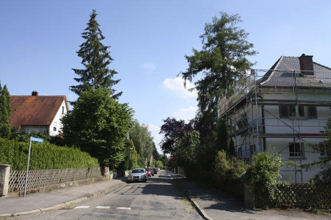Ellerbachstraße (heutige Ansicht)