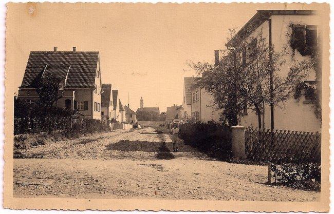 Ellerbachstraße (Vorderseite der Ansichtskarte)