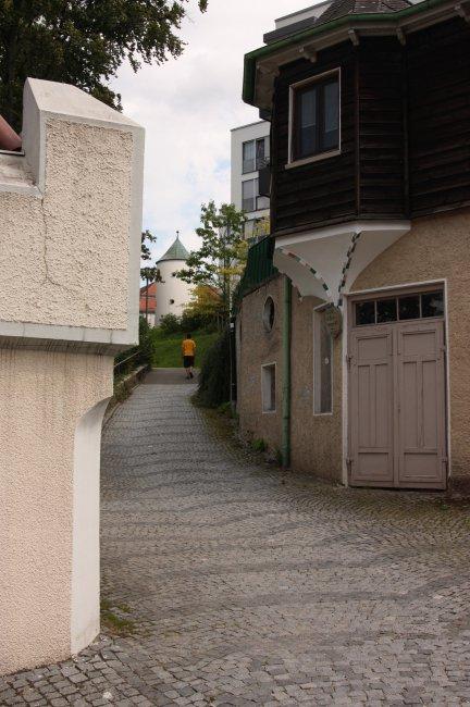 Kirchenweg (heutige Ansicht)